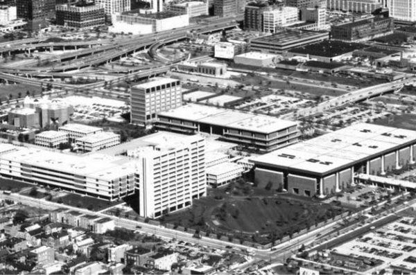 Netsch Campus aerial shot.