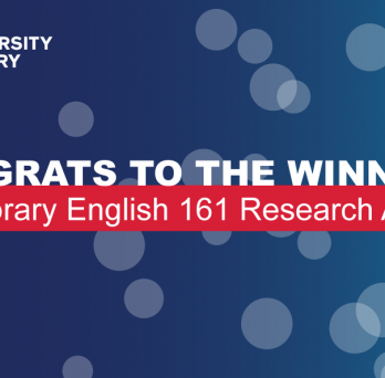 Congrats to the Winners! UIC Library English 161 Research Awards